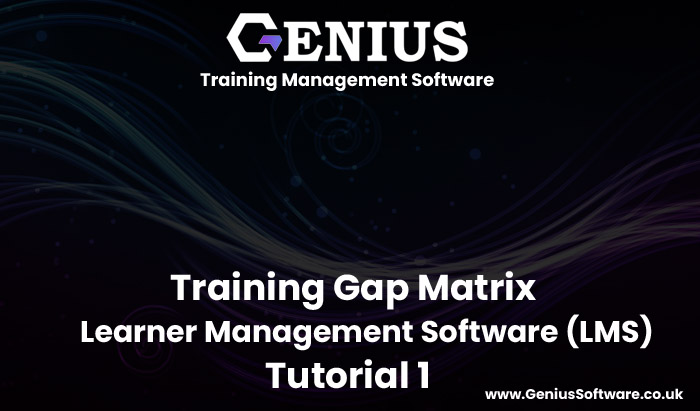 Training Gap Matrix in Customer Platform (LMS)