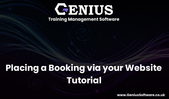 Genius website integration - place a booking